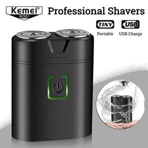Kemei Mini Electric Shavers Fo