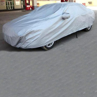 1PC Auto Car Cover UV Protection Breathable Outdoor Sunscreen Waterproof Sun Ice Frost Warm Thicken Flocking Car Clothing Cover