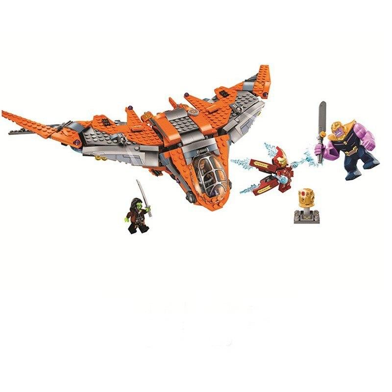 BL 10839 755pcs Super Heroes Batman Avengers Infinity Thanos Ultimate Battle Building Blocks Kids Bricks Compatible