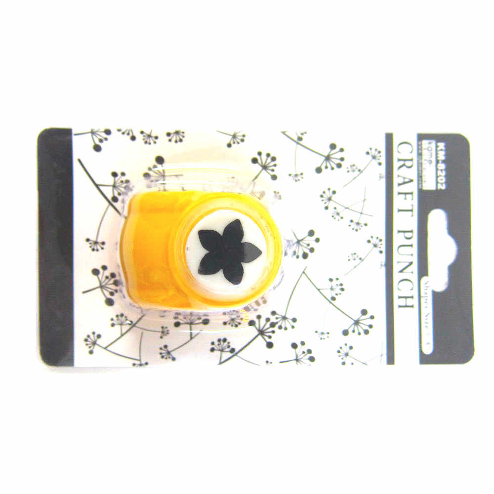 Cortadora de papel de 18mm de alta calidad, Punch Craft de papel de flores para hacer tarjetas DIY, etiquetas para álbum de recortes, perforadora con forma de pétalos