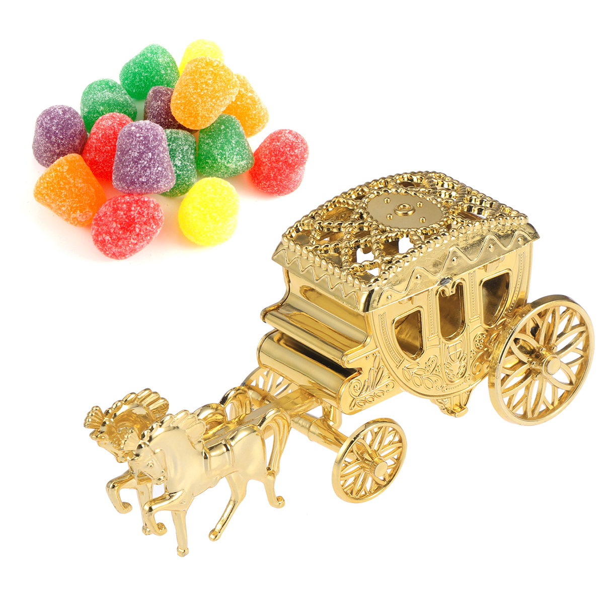 Wedding Favor Gift Boxes: Wedding Carriage Favor Boxes Chocolate Treat Boxes Gift