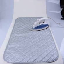Multifunction Large Ironing Board Cover For Table Top Travel Mat Pad Blanket Holiday Caravan(China)