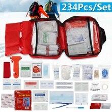 SOS Emergency Camping Survival Equipment 234Pcs/Set Outdoor Gear Tactical Tool Lightweight Versatile Portable Self-help Security