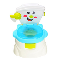 Portable Cartoon Baby Boy Girl Toilet Trainer Toddler Kids Potty Training Seat Urinal Pee Trainer Toilet Training Accessories