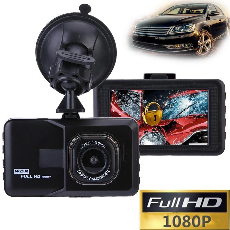 Профессиональная автомобильная камера Full HD 1080P 3 дюйма с углом обзора 120 градусов с датчиком движения ночного видения G AV-Out HDMI USB2.0 Micro SD