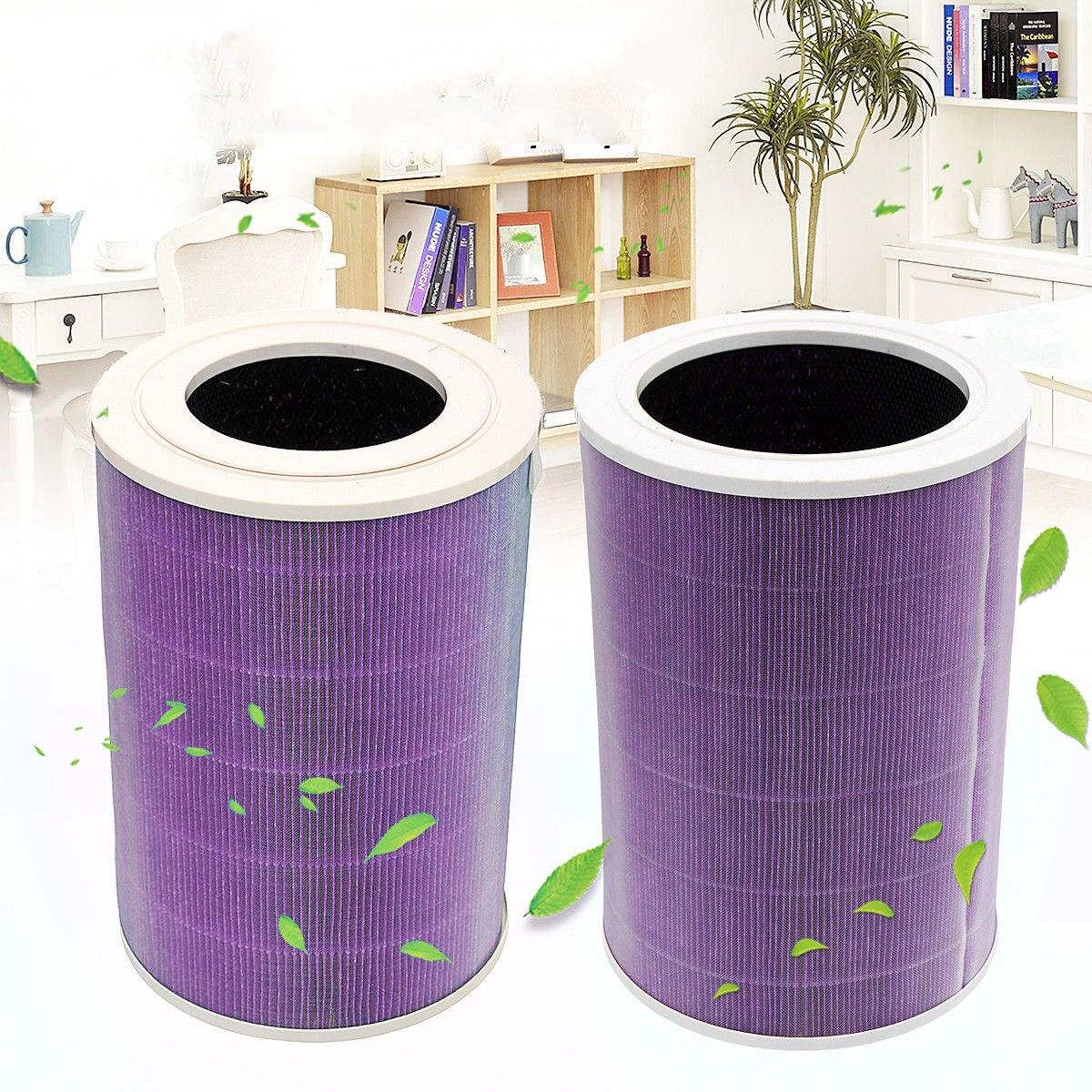 Nouveau 200*200*288mm Violet Air cartouche de filtre Filtre Élément qualité supérieure convient pour Xiao mi mi purificateur d'air 1/ 2/Pro/2 S