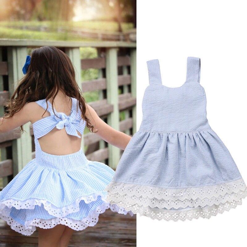 30719e973fb Платье без рукавов для маленьких девочек