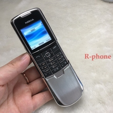 100% Full Original Used NOKIA 8800 Classic Mobile Phone GSM Tri-Bands Unlocked Cell Phone & Silver