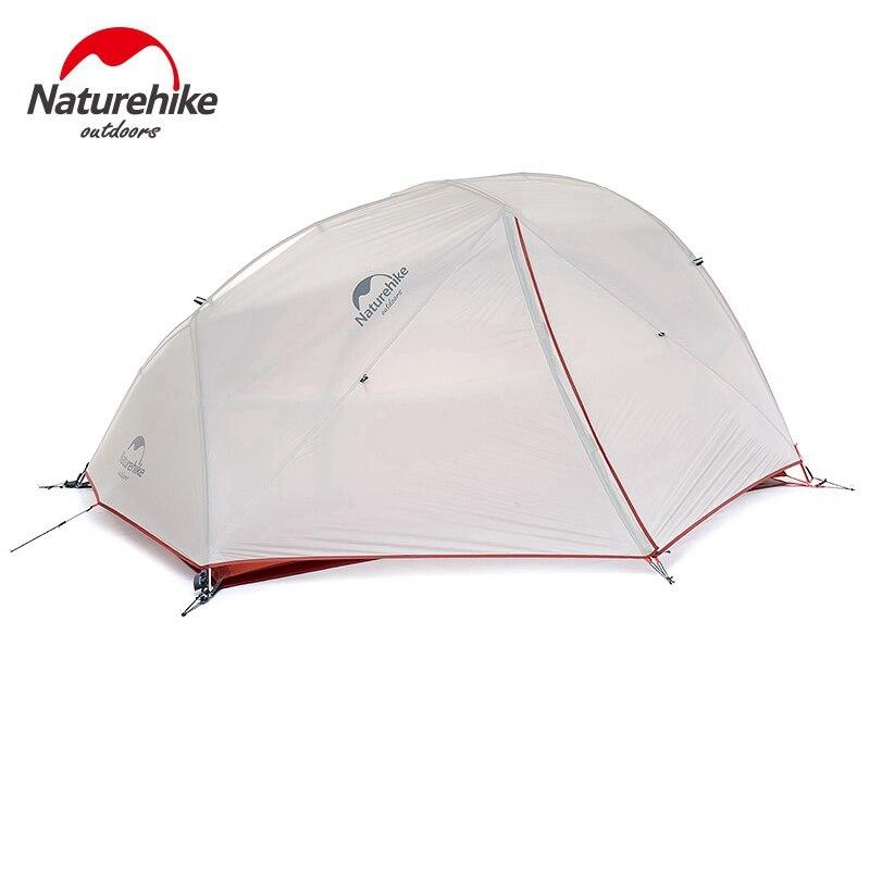 Nature randonnée 2 personne 4 saison tente avec tapis gratuit Camping tente améliorée ultralégère étoile rivière 2
