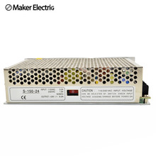 Power supply S-150-27 27V 150W 6.5A Single Output Switching power supply for LED Strip light 27v transformer 47~63Hz [cheneng]mean well original pps 200 27 27v 7 4a meanwell pps 200 27v 199 8w single output with pfc function