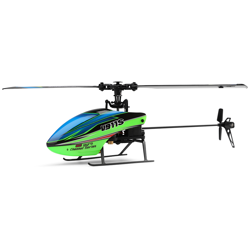 WLtoys V911S RC Helicopters Drone Dron 2.4G 4CH 6-Aixs Gyro Flybarless RC Helicopter Drones With Hover Midpoint Setting RTF