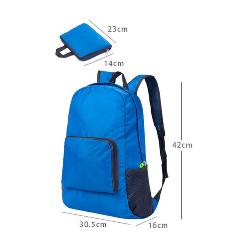 9adf484ca6b4 1PC Foldable Backpacks Boys Girls Kid Portable Plain Backpack Rucksack  School College Travel Laptop Bag-in Backpacks from Luggage   Bags on  Aliexpress.com ...