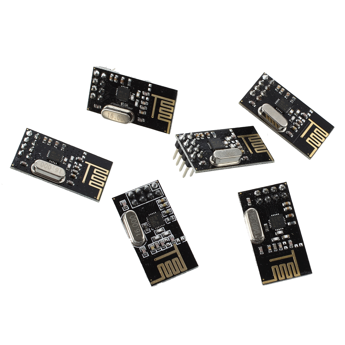 Taidacent 5PCS Lot Full Band Rf Modulator Wireless 2.4 ghz Transceiver IC Cc2500 Rf Module for Water Meter Remote Control SPI Interface