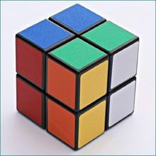 ShengShou Magic Neo Rubix Cube 2 Steps 50mm 2X2 Sticker Puzzle Cube Educational Fidget Toys For Children Hand Spinner shengshou cube 2 x 2 x 2 mini cube black base fun educational toy