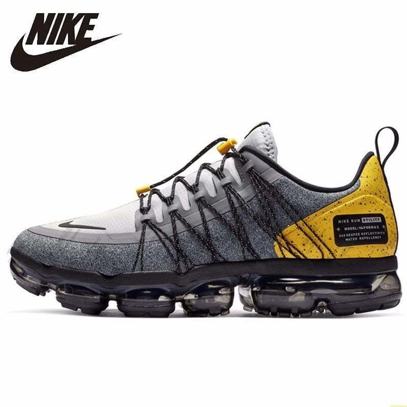 Nike AIR VAPORMAX nueva llegada hombres zapatillas de correr nuevo patrón zapatillas de aire cojín zapatos cómodos # AQ8810-010