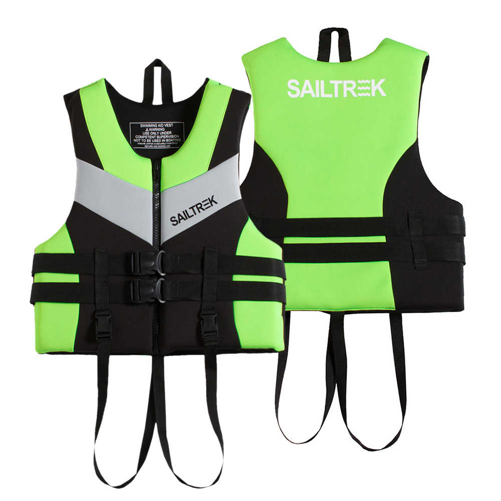 2019 NEW Water Sports Fishing Vest Adult Life Jacket Neoprene Life Vest Kayaking Boating Swimming Drifting Safety Life Vest