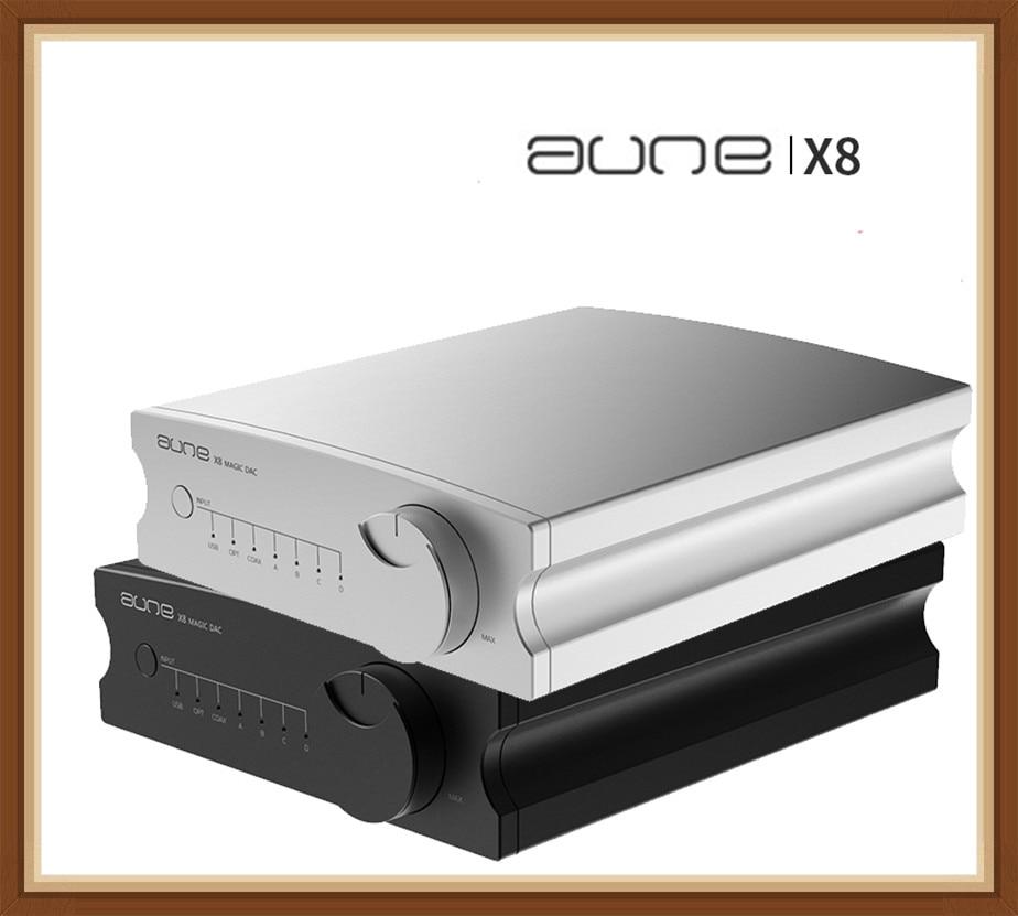 AUNE X8 HIFI DAC décodeur Audio ES9038Q2M USB DAC Amp DSD512 Coaxial optique PCM32bit 768 kHz pour iPhone Sony Shanling Android