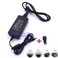 12V 5A 5 ampères 60W DC ue/US royaume-uni adaptateur d'alimentation transformateur LED bande lumineuse