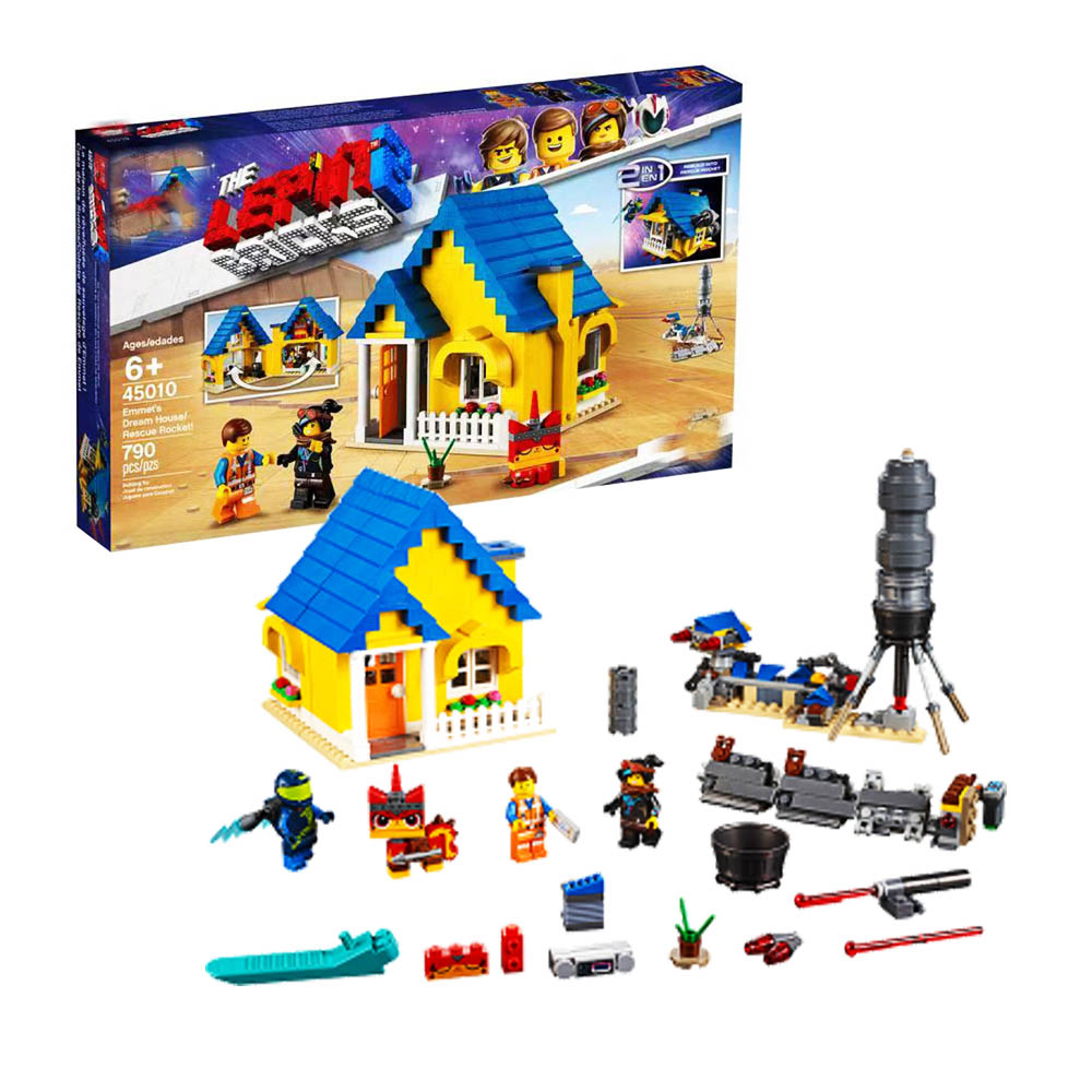 2019 New Emmet's Dream House Rescue Rocket Building Blocks Compatible LegoINGLYS Movie 2 70831 Educational Toys Christmas Gifts