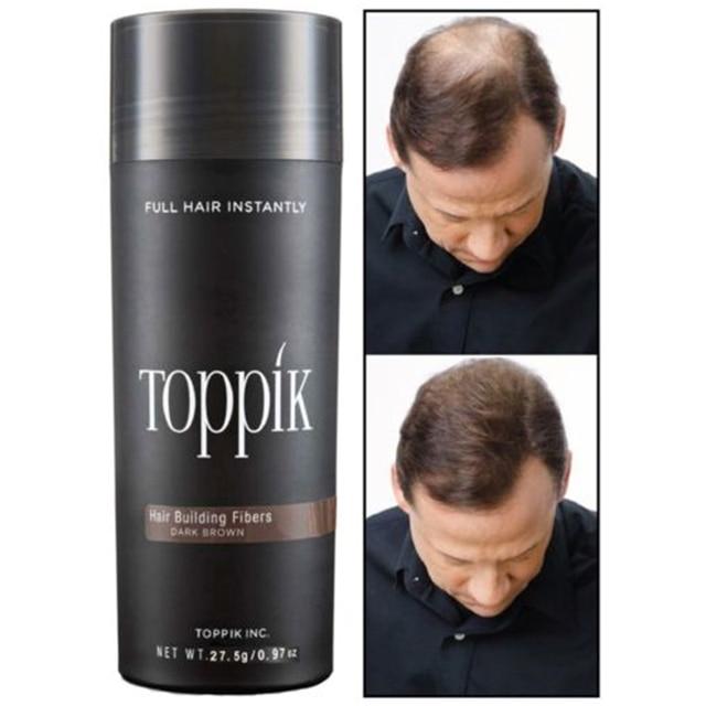Saç dökülmesi ürünleri Keratin kalınlaşma Fiber saç bina lifleri 27.5g