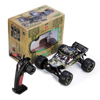 New Version RC Car 26Mph Remote Control Truck 1/12 2.4 GHz 2WD Waterproof Off-road Monster Cars Toys for Kids Children Gift