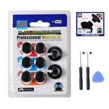 PS4 Slim Pro Controller Thumbsticks 8w1 wymienne Aimsticks wymienny analogowy kciuk w różnych wysokościach