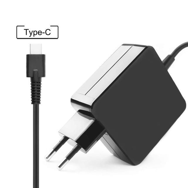 USB-C Tipo C Adaptador de Carregador De Parede De Energia Para Lenovo thinkpad t480 t580 t480s p51s p52s x280 x270 e480 e580 l480 l580 x1 carbono