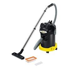 Пылесос для сухой и влажной уборки Karcher AD 4 Premium *EU-II (Ручка для горизонтального перемещения, cбор жидкости, ударопрочный корпус, функция выдува)