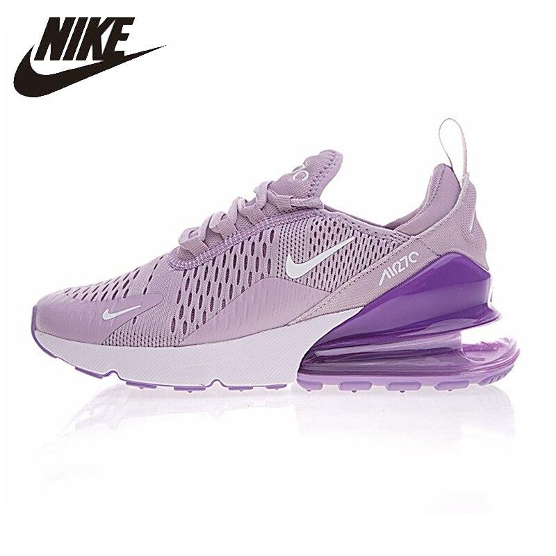 Nike nouveauté Air Max 270 chaussures de course pour femmes Absorption des chocs chaussures de Sport en plein Air antidérapant respirant baskets # AH8050