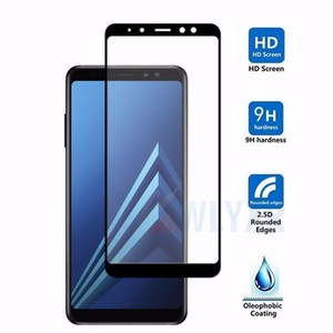 protective glass on the for samsung galaxy a6 a8 plus glass for samsung j8 j7 j6 j4 j2 pro 2017 2018 case cover tempered glas(China)