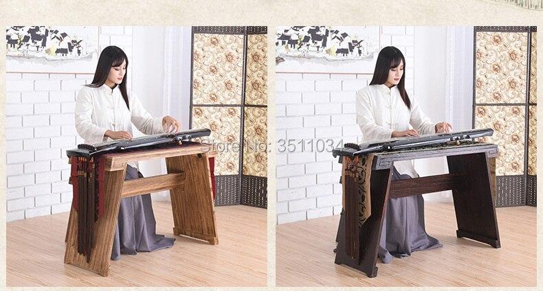 Les tables et les bancs de cithare et de Guqin peuvent être démontés pour imiter l'ancienne table à thé calligraphie Ming et Qing