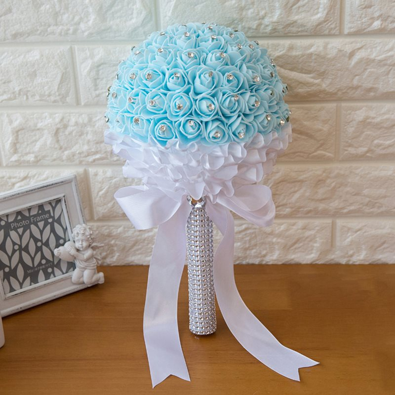 Dressv New Creative High-End Wedding Bouquet Hand Bouquets Holding Flowers