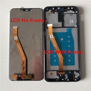 "Image 5 - 6.3 ""מקורי מסגרת M & סן עבור Huawei Mate 20 לייט LCD מסך תצוגה + מגע Digitizer לוח עבור huawei Mate 20 לייט עצרת Lcd"