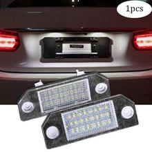 1 х Автомобильный 12 В 24 светодиодный светильник внешние светильники номерной знак светильник автомобильная лампа для Ford Focus