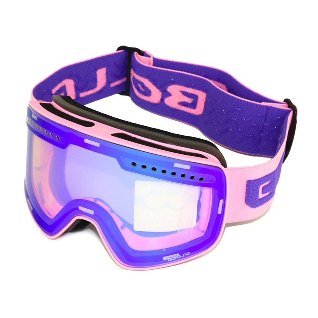 New Ski Goggles Double Lens Uv400 Anti-fog Adult Snowboard Skiing Glasses Women Men Snow Eyewear Products Are Sold Without Limitations