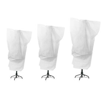 Wielokrotnego użytku osłoną drzew roślin ochrony torba ze sznurkiem Yard ogród Outfoor zima tanie i dobre opinie Włókniny tkaniny