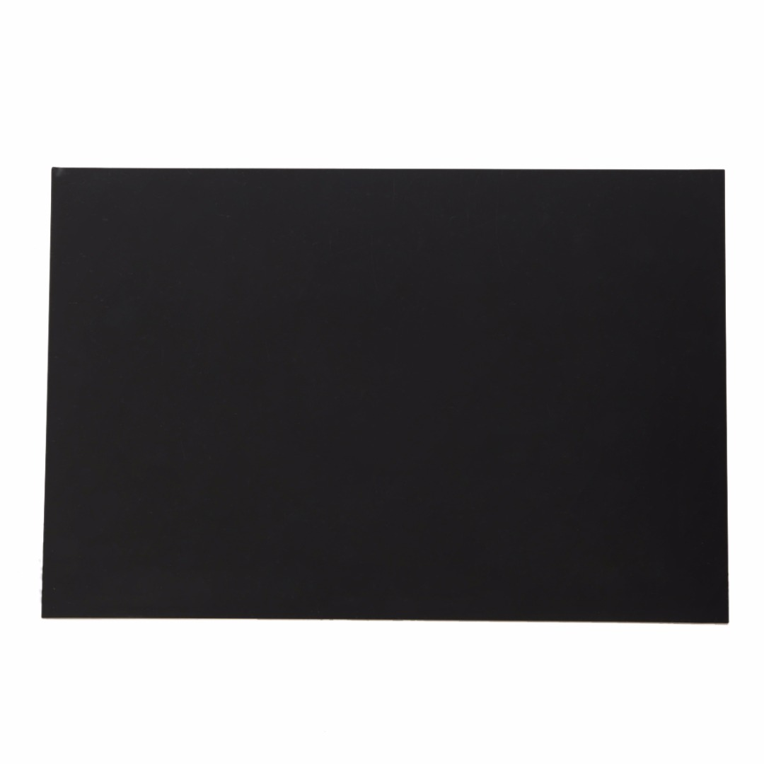 Image 3 - 1pcs Black Durable ABS Styrene Plastic Flat Sheet Plate 1mm x 200mm x 300mm for Industrial Components-in Tool Parts from Tools