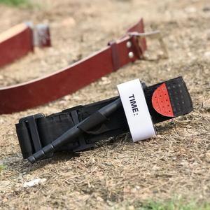 Image 4 - 1 pc Tourniquet survie tactique Combat Application pointe rouge militaire médical chat durgence ceinture aide pour lexploration en plein air