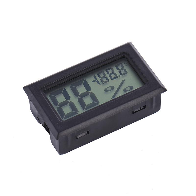 Image 4 - Mini Black Digital LCD Temperature Humidity Indoor Room Humidity Meter Thermometer Hygrometer Temperature Sensor Humidity-in Temperature Gauges from Home & Garden