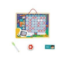 1 шт., диаграмма ответственности, время календаря, игрушки, обучающие магнитные игрушки, доска для записей, для детей, детей
