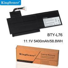 купить KingSener BTY-L76 Laptop Battery For MSI X7613 MD98802 GS70 S4217T 2PE Series MS-1771 MS-1772 MS-1774 GS72 C703 XMG 5400mAh по цене 3229.19 рублей