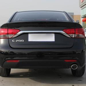 Image 5 - 3D Chrome Car Model Refitting Badge Sticker Car Trunk Rear Emblem Badge Chrome Letters For Mercedes C Class C180 C200 C220