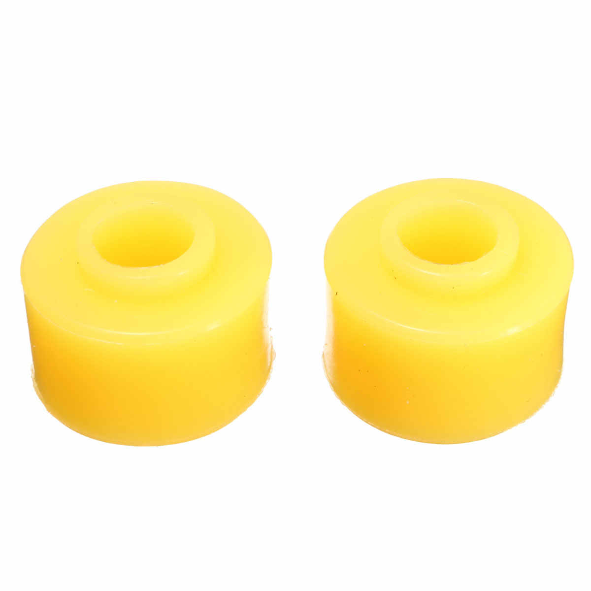 10mm 10 Pcs הפנימי Dia צהוב גומי הלם בולם תותבים חלק אוטומטי רכב