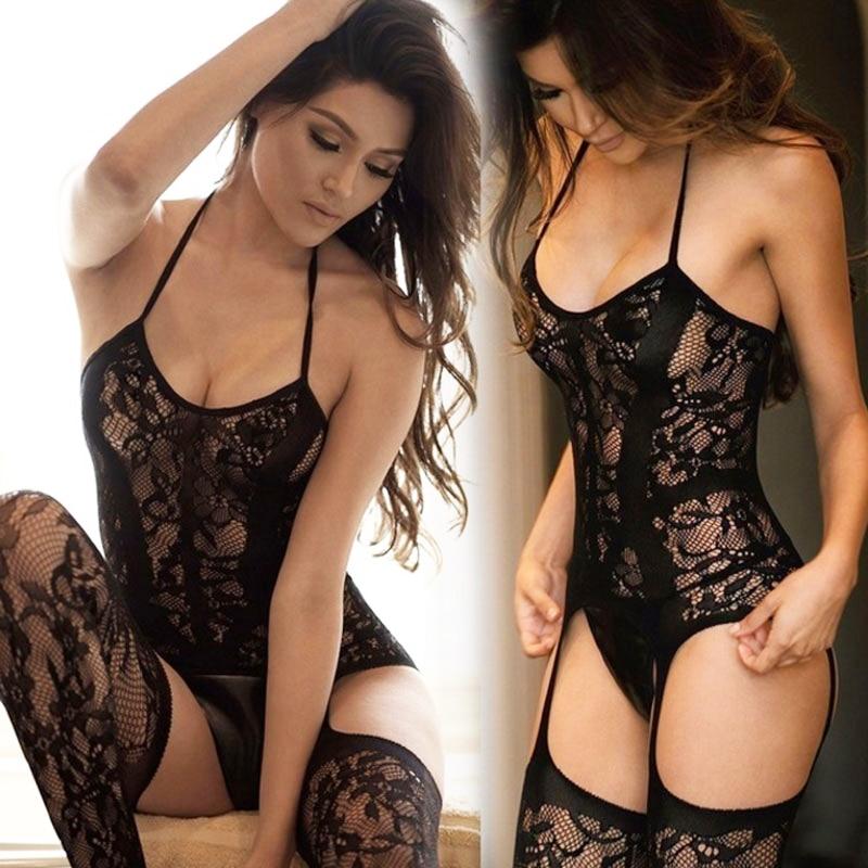 Women Sexy Lingerie Plus Size Hot Erotic Underwear Babydoll Fishnet Sleepwear Sex Costumes Lenceria Erotica Mujer Sexi