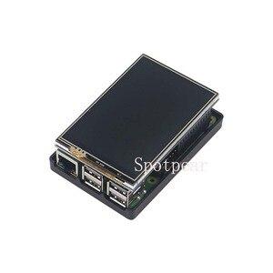Image 2 - Boîtier daffichage LCD pour Raspberry pi, 3.5 pouces, double fonction pour Raspberry pi 3 modèle b +/4B/zero, ne pas avec raspberry pi
