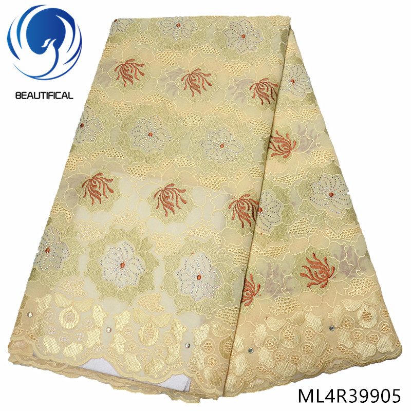 BEAUTIFICAL 5 yards voile lace switzerland swiss voile fabric african cotton dry lace 2019 ML4R399BEAUTIFICAL 5 yards voile lace switzerland swiss voile fabric african cotton dry lace 2019 ML4R399