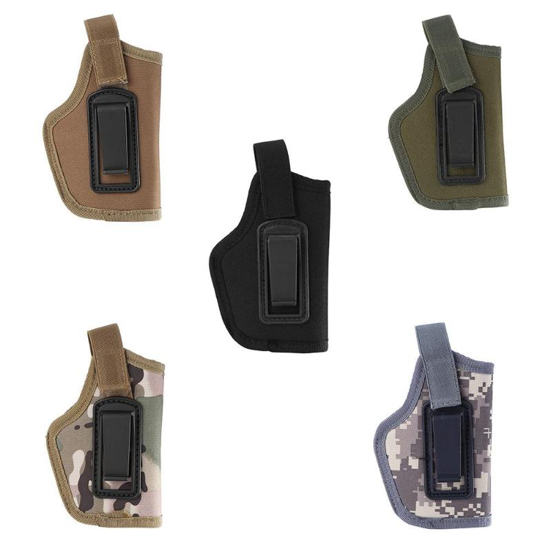 Universal Holster Concealed Carry Holsters Belt Metal Clip IWB OWB Holster Airsoft Bag Hunting Articles For All Sizes Handguns