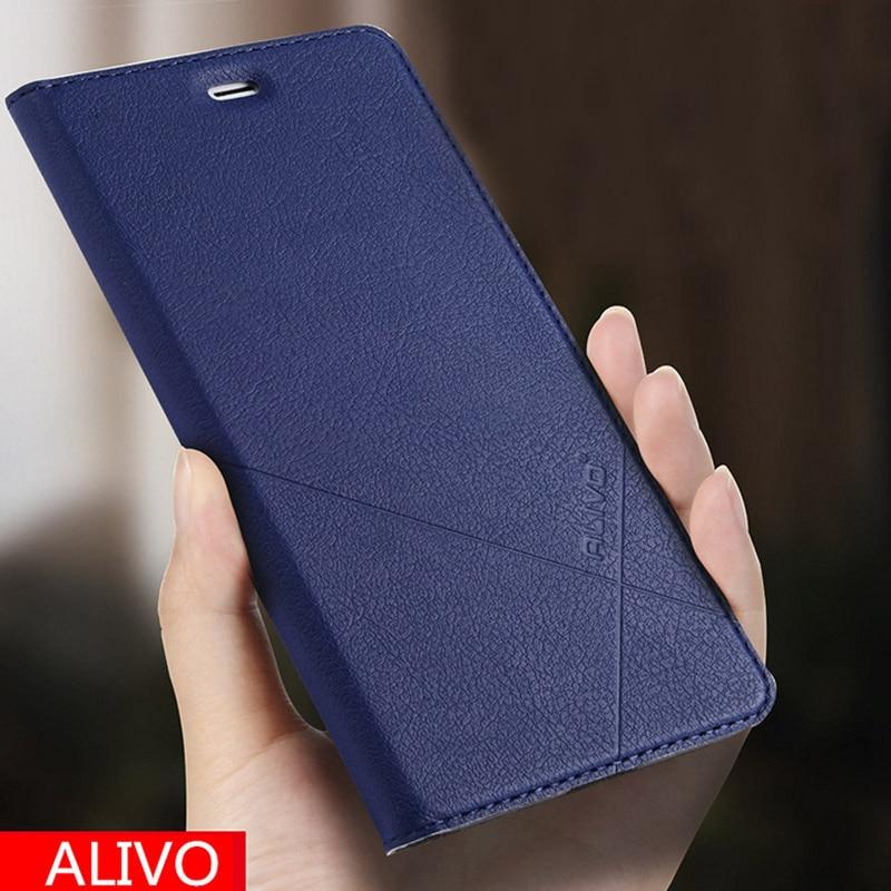 ALIVO Xiomi redmi Hinweis 5 3 Fall Brieftasche Leder Fall Für Xiaomi redmi Hinweis 3 5 Pro redmi 6A Stehen flip Abdeckung redmi 6 pro