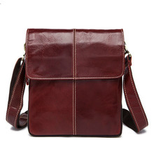 retro Men Tote Casual Briefcase Business Shoulder thread Leather male Messenger Bags iphone ipad Handbag Men #8217 s Bag Flap Pocket cheap Briefcases Genuine Leather zipper Solid COTTON Single 8006 Soft Handle Interior Slot Pocket Cell Phone Pocket Interior Key Chain Holder