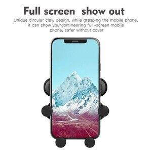 Image 5 - ユニバーサル重力ブラケット自動車電話ホルダースタンドクリップのためのスマートフォン Iphone 4 の X Xs 最大サムスングラム